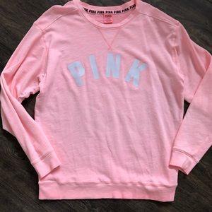 PINK Victoria Secret Oversized Crew Sweatshirt Med